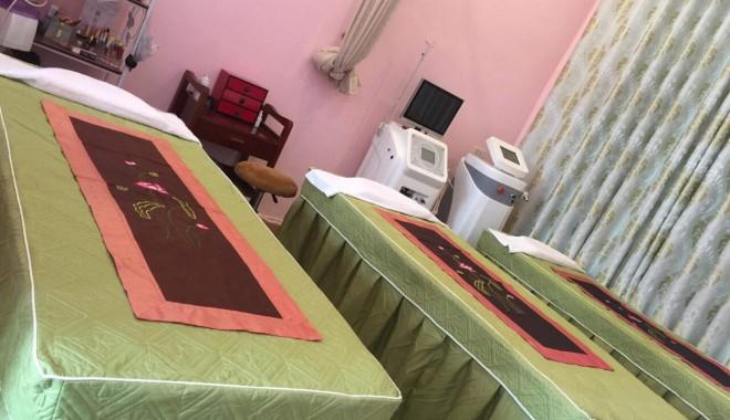 Drap Giường Spa Giá Rẻ Uy Tín Khăn Nam Phong
